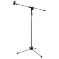 Floorstand with boom, height 1.6m, black