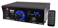 Pyle Home PCAU15A 2 x 15 Watts Mini Power Amplifier with LED Display