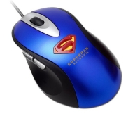 i-rocks Superman Optical Mouse (Blue)