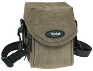 Kodak Gear Crinkle Nylon Twin Pocket Compact Case (Khaki)