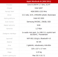 Apple MacBook Air (mid 2011)