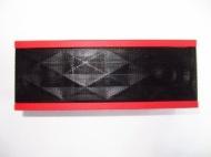 Jawbone - Jambox Wireless Bluetooth Speakerphone - Black/Red
