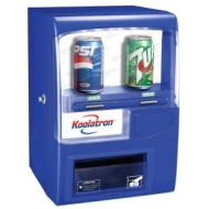Koolatron Vending Fridge Blue 1ea.