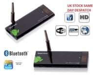 OEM Natural CX-919 Quad Core RK3188 Bluetooth Android 4.1.1 Mini Google PC TV Box 1G/8G BT/HDMI, Black