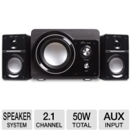 Eagle Tech ET-AR306-BK 2.1-Channel Compact Speakers