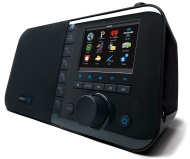 Grace Digital Wi-Fi Music Player with 3.5-Inch Color Display (GDI-IRC6000) (Black)