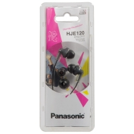 Panasonic RP-HJE120E2K Ergo Fit In-Ear Kopfhörer
