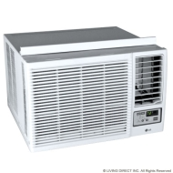 LG 12,000 BTU Heat/Cool Window Air Conditioner w/ Remote