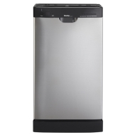 "Danby Designer DDW1899BLS 18"" Built-in Dishwasher with 8 Place Setting Capacity, 7 Wash Cycles, Durable Stainless Steel Spray Arm and Automatic Deter"