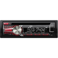 JVC KDR650 - CD - Apple® iPod®-Ready - In-Dash Receiver