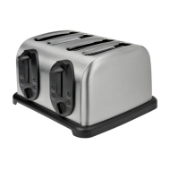 Kalorik Stainless Steel 4 Slice Toaster