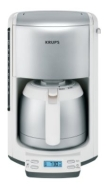 Krups FMF5-14 Home Coffee Maker - Black/Stainless