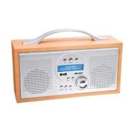 Bush Wooden Effect Digital DAB/FM Stereo Radio.