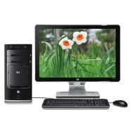 HP Pavilion m8530f Refurbished AMD Desktop PC - AMD Phenom X4 9550 2.2GHz, 5GB DDR2, 750GB SATA II, DVD-RW DL Lightscribe, Gigabit LAN, Vista Home Pr