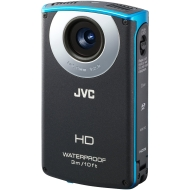 "JVC Picsio GC-WP10 Black Waterproof High Def Camcorder w/ 3"" LCD Display, Touchscreen"