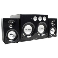 König - CMP-SP70 - Ensemble haut-parleur 2.2 stéréo - Noir