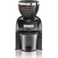 Krups Conical Burr Grinder Appliances Cookware - Black