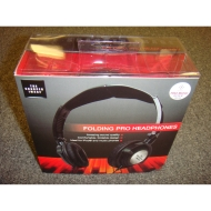 SHARPER IMAGE SHP30 FOLDING PRO HEADPHONES