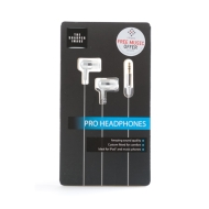 The Sharper Image Chrome Pro Headphones for iPhone, iTouch, iPods and all Music Devices