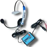 Parrott P41TR Voice Recognition Headset with Microphone