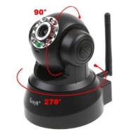 EasyN Wireless WIFI IP Camera IR LED 2-Audio Nightvision Black