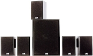 5.1 Channel Home Theater Black Speaker System - MKMOVIE
