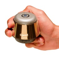 Oontz Curve Gold- The Super Compact Portable Wireless Bluetooth Speaker - Just Released by Cambridge SoundWorks