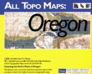 iGage All Topo Maps Oregon Map CD-ROM (Windows)