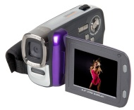 Easypix DVC 5007 Pop, Mini Videocamera digitale 5Mpix, colore: Viola