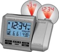 La Crosse Technology WT-5431 Projection Alarm Clock with Remote Temperature