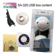 SA-320 USB Marine GPS Empfänger. Spezial GPS Satelitten Empfänger für Marine und Yacht: SA320 von Evermore für den Anschluß des Satelittenempfängers