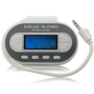 Radio FM Transmitter for MP3 MP4 Players, Apple iPod iPhone, NOKIA, SONY