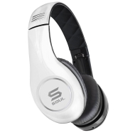 SOUL by Ludacris SL150BW High-Definition On-Ear Headphones - White/Black