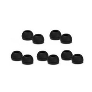 High Quality 10 Replacement Medium Earbuds Tips Buds For Sennheiser CX 300 CX300 CX400 CX500 CX550 CX95 CX55 Earphones 100% FITS (10 Pack Medium) - Co