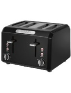 Waring Professional CTT400BK Cool Touch 4-Slice Toaster Black