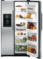 GE Freestanding Side-by-Side Refrigerator GSH22JSX