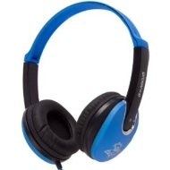 groov-e gv590pbb kids dj style headphone blue
