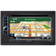KENWOOD GPS Navigation Double-DIN Receiver DNX6180
