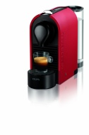 Nespresso U Matt Coffee Machines by Krups - Red
