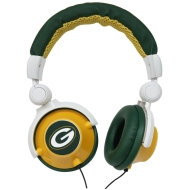 iHip NFL Officially Licensed DJ Style Headphones - Greenbay Packers