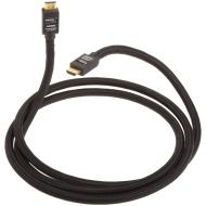 AmazonBasics abgeschirmtes Hochgeschwindigkeits-HDMI-Kabel mit Ethernet (2 Meter)