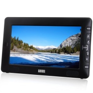 "August DTV905 9"" High Resolution Freeview LCD TV & PVR Recorder / Media Player / Photo Displayer - Powered by Mains or Rechargeable Batteries (Interna"