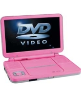 Alba 7 Inch Pink Portable DVD Player