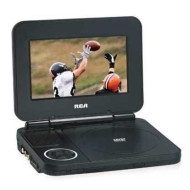 """Rca Portable Dvd Player With 7"""" Screen"""
