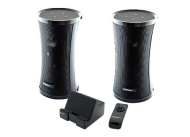 Sabrent Weather Resistant 900MHz Wireless Indoor/Outdoor 150 Ft Stereo Speaker System with Remote and Dual Power Transmitter (SP-NELO)