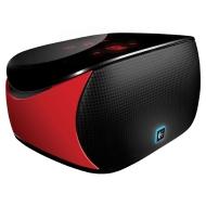 Mini Boombox Logitech Enceinte sans-fil Bluetooth Commandes tactiles rétroéclairées Compatible iPad/iPod/iPhone Rouge