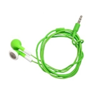 Neon Green Stereo Earphones Mp3, Ipod etc