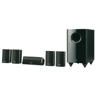 Onkyo SKS HT528 - 5.1-channel home theatre speaker system - gloss black