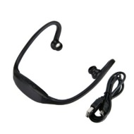 Black Wireless Bluetooth Stereo Sports Headphone Headset for iPhone 5 4 4S