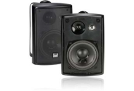 Dual 3-Way Indoor/Outdoor Speakers (Black)